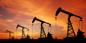 Spike in crude oil